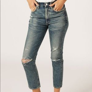 Citizens of Humanity Dree Crop High-Rise Jeans